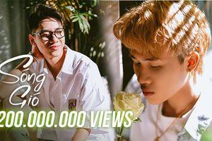 Sóng Gió từ K-ICM và Jack chính thức trở thành MV Vpop đạt 200 triệu view nhanh nhất lịch sử