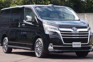 Toyota GranAce - phiên bản 'hạng sang' của Hiace sử dụng động cơ dầu