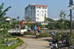 Vụ nhà máy nước xả trái phép lượng lớn bùn thải ra hồ điều hòa ở Nghệ An: Khắc phục hậu quả