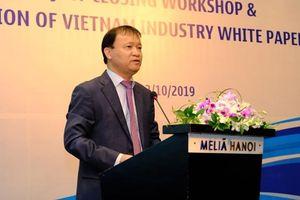 Ra mắt Sách Trắng Công nghiệp Việt Nam 2019