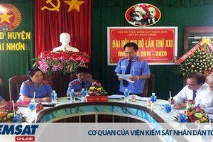 Tăng cường sự lãnh đạo của Đảng, hoàn thành tốt nhiệm vụ chính trị tại VKSND huyện Hoài Nhơn, tỉnh Bình Định