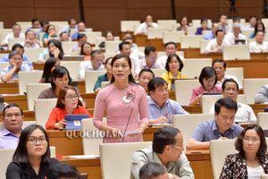 Đbqh Nguyễn Thị xuân: chất vấn Bộ Giao thông vận tải về trì hoãn, chậm trễ chuyến bay