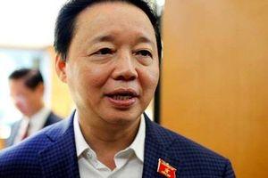 Bộ trưởng Tài nguyên và Môi trường: 'Vụ việc nước sạch Sông Đà ô nhiễm cho thấy kiểm soát an ninh nguồn nước có vấn đề lớn'