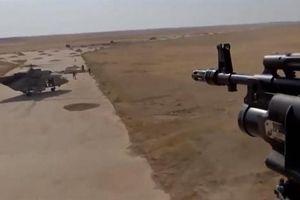 Ba trực thăng Nga hạ cánh xuống căn cứ Mỹ