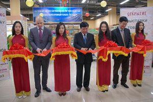 Khai trương gian hàng giới thiệu sản phẩm tỉnh Thanh Hóa tại LB Nga