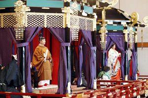 Nhật hoàng Naruhito chính thức đăng cơ