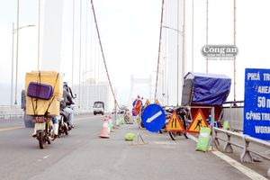 Vì sao Đà Nẵng phải tiếp tục 'tiểu phẫu' cầu dây võng dài nhất Việt Nam?