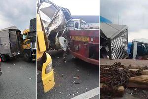 3 ôtô tông liên hoàn trên cao tốc Trung Lương, 1 người nguy kịch