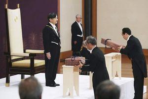 Giải mã hai báu vật hoàng cung dành cho tân vương Nhật Hoàng