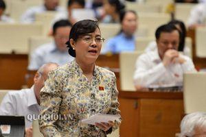 Bà Nguyễn Thị Quyết Tâm 'nghẹn ngào' nói về thu nhập và giờ làm thêm của công nhân