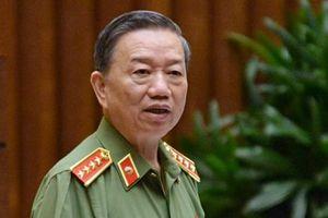 Đại tướng Tô Lâm nói về hiện tượng tiêu cực trong ngành công an