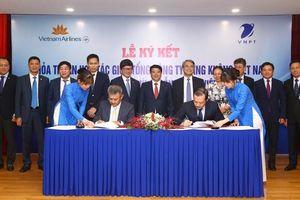 VNPT và Tổng công ty Hàng không Việt Nam ký hợp tác chiến lược