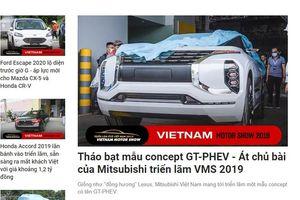 Vietnam Motor Show 2019 quản lý kém, chưa khai mạc ảnh xe mới đã lan tràn trên mạng