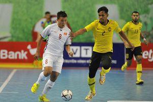 Tuyển futsal Việt Nam tranh vé chung kết với Thái Lan