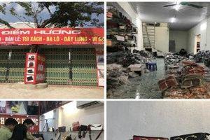 Thu giữ hơn 1.200 túi xách giả nhãn hiệu nổi tiếng tại 'thủ phủ' túi ví Phú Xuyên