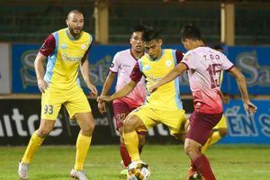Hạ màn V.League 1-2019: Đội xuống hạng gọi tên Thanh Hóa hay S.Khánh Hòa?