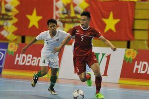 Xếp nhì bảng B, ĐT Việt Nam hẹn Thái Lan ở bán kết giải futsal ĐNÁ