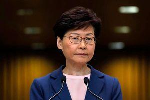 Trung Quốc có kế hoạch thay thế trưởng đặc khu Hồng Kông Carrie Lam?