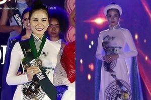 Trắng tay tại phần thi tài năng, Hoàng Hạnh rạng rỡ giành giải Hoa hậu thân thiện Miss Earth 2019