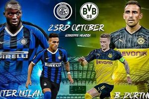 Đội hình dự kiến Inter Milan vs Dortmund: Lukaku đối đầu Marco Reus