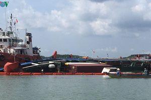 Ngày 30/11 sẽ hoàn tất việc trục vớt tàu Vietsun Integrity