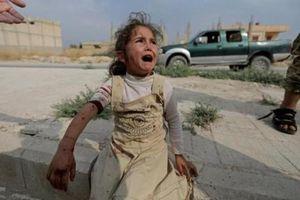 Đau lòng cuộc sống bấp bênh của các em nhỏ trong cuộc chiến ở đông bắc Syria