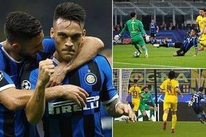 Barcelona thắng may, Inter hạ gục Dortmund trên sân nhà