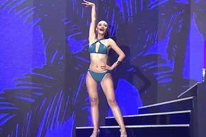 Á hậu Kiều Loan diễn bikini và trang phục dạ hội ở đêm thi bán kết