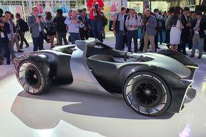 Toyota giới thiệu concept xe thể thao tương lai e-Racer
