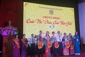 Chung khảo Cuộc thi Hòa giải viên giỏi TP Hà Nội năm 2019
