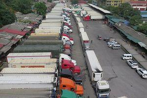 Giải quyết ùn ứ hàng nông sản tại cửa khẩu Tân Thanh