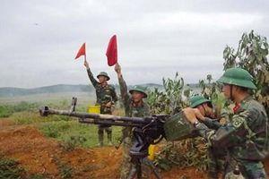 Sư đoàn 324 (Quân khu 4): Diễn tập vòng tổng hợp bắn đạn thật