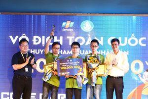 Sinh viên công nghệ giành 140 triệu đồng từ cuộc thi lập trình