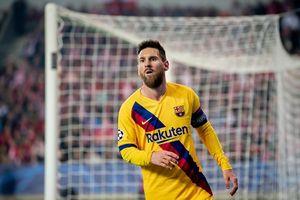 Messi 'nổ súng', Barca nhọc nhằn vượt ải Praha