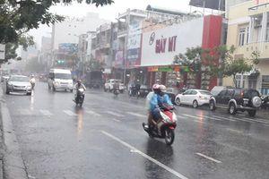 Từ sáng mai (25/10), Nghệ An đến Quảng Ngãi có mưa