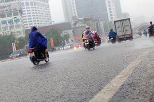 Không khí lạnh tràn về miền Bắc, Trung Bộ có mưa to