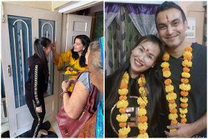 Thích thú xem Võ Hạ Trâm trải nghiệm phong tục đón dâu tại quê chồng Ấn Độ