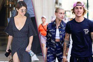 Vợ chồng Justin Bieber đáp trả 'cực gắt' khi bị Selena Gomez 'cà khịa'?