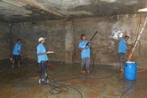 Những lưu ý để đảm bảo an toàn khi thau bể nước ngầm