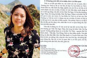 Làm rõ trách nhiệm người bổ nhiệm bà Trần Thị Ngọc Ái Sa