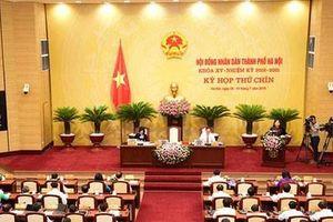 Ngày 25/10, HĐND TP Hà Nội họp phiên bất thường về công tác nhân sự