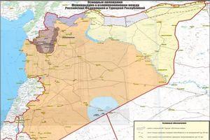 Nga công bố bản đồ Syria mới, cử quân tới biên giới Syria-Thổ Nhĩ Kỳ