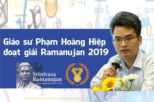Giáo sư Phạm Hoàng Hiệp đoạt giải toán học danh giá