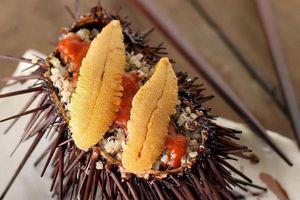 Quy trình làm ra trứng nhím biển cực phẩm của người Nhật