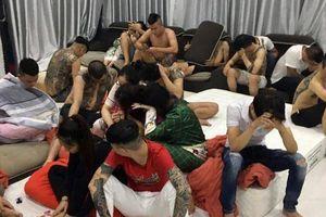 22 thanh niên mở tiệc ma túy trong căn villa