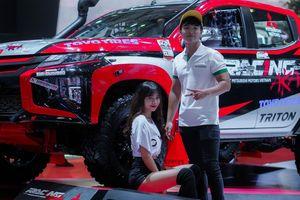 Mitsubishi Triton độ lên offroad dự thi quốc tế tại VMS 2019