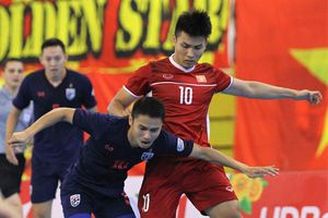 Việt Nam thua Thái Lan 0-2 ở bán kết giải futsal Đông Nam Á