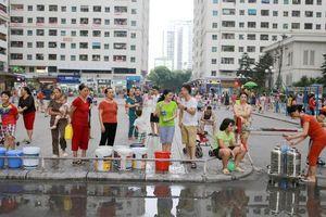Viwasupco chính thức xin lỗi người dân Hà Nội, miễn phí tiền nước 1 tháng