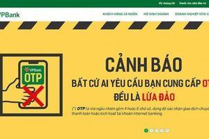 Cảnh báo lừa đảo mạo danh ngân hàng VPBank