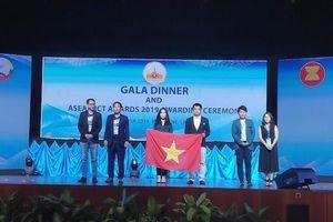 Hai sản phẩm giáo dục của Việt Nam giành giải vàng và bạc tại ASEAN ICT Awards 2019